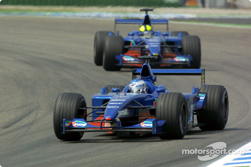 Jean Alesi and Luciano Burti