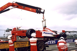 The Toyota F1 on the truck