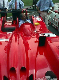 Mayor Anthony A. Williams of the District of Columbia in the Panoz