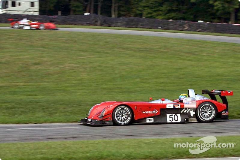 David Brabham in the winning Panoz