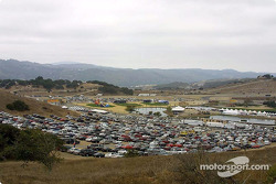 Beautiful Laguna Seca scenery during the race