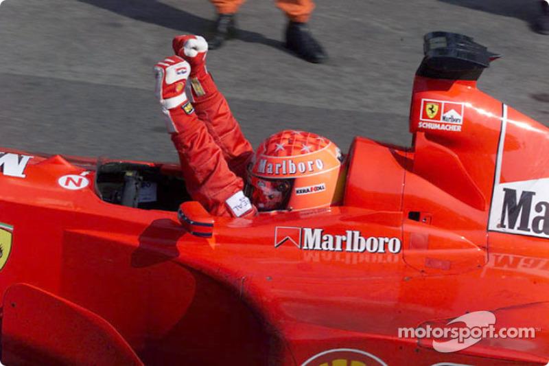 Michael Schumacher é o maior vencedor da história do GP da Itália, com cinco triunfos (1996, 1998, 2000, 2003 e 2006)