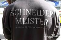 Meister-Tshirt von Bernd Schneider, D2 AMG Mercedes, Mercedes-Benz CLK-DTM