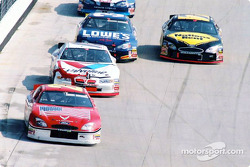 Elliott Sadler leading the pack