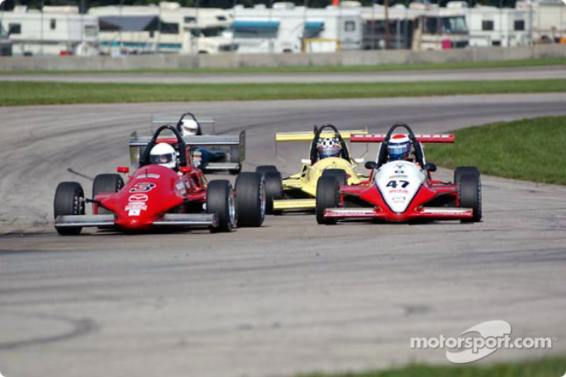 Race 11, Formula Mazda: Jaimie Bach leading the field