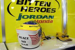 Jarno Trulli's helmet