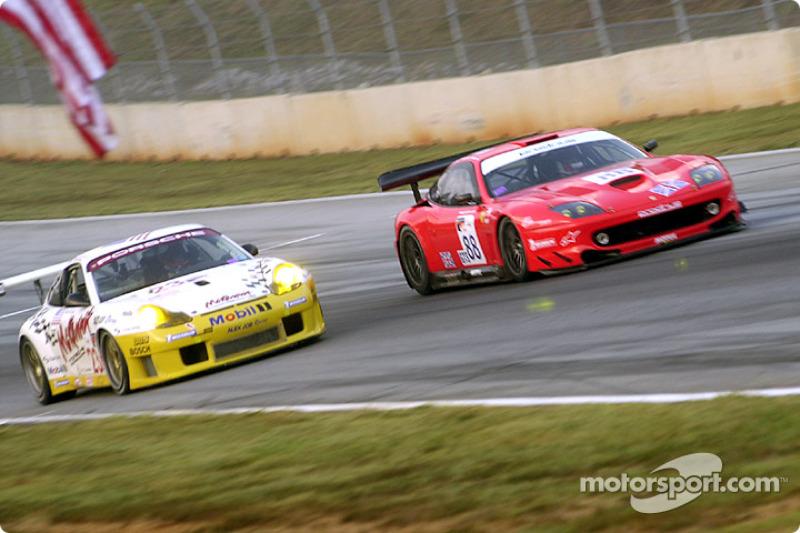 Porsche 911 GT3 RS and Ferrari 550 GT Maranello