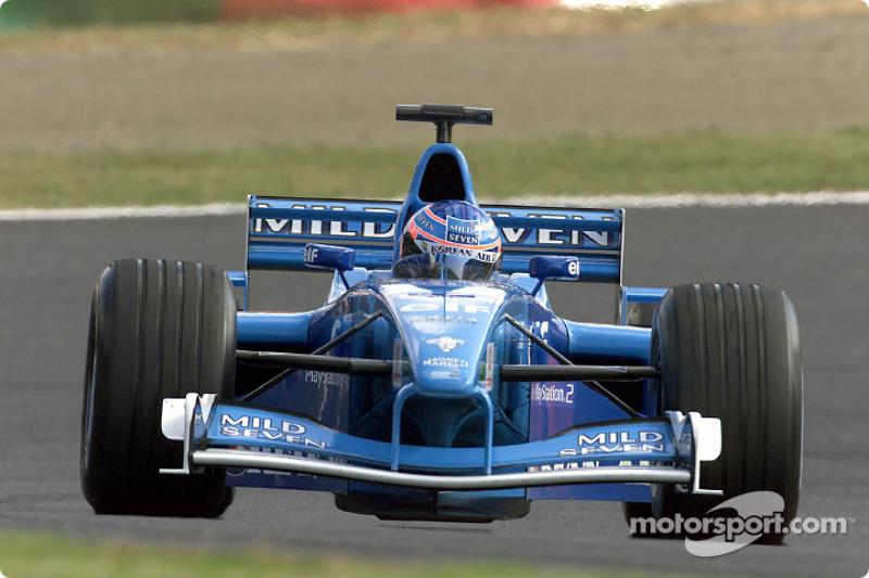 2001 - Benetton B201 (Renault engine)