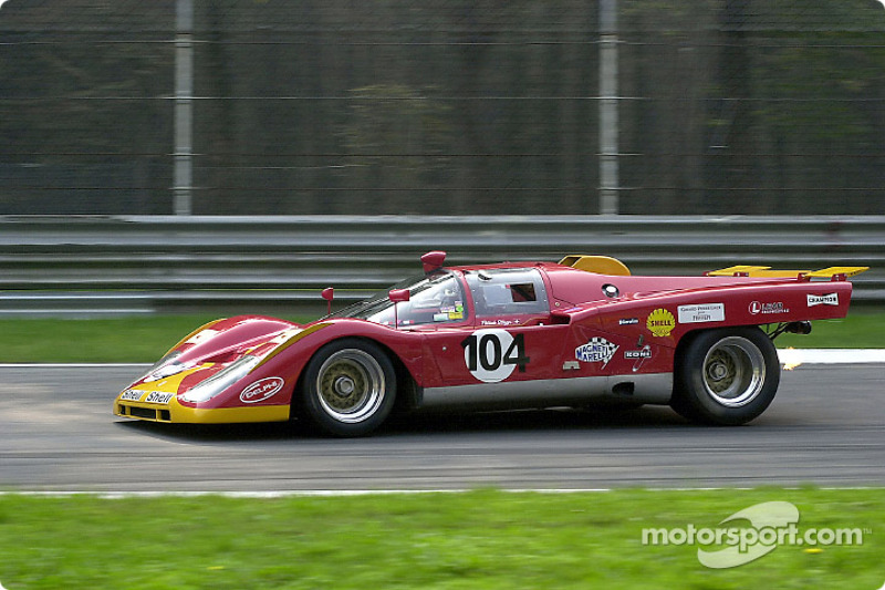 Patrick Stieger in the Ferrari 512M