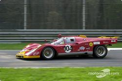 Patrick Stieger in the Ferrari 512M