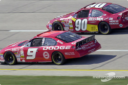Bill Elliott and Hut Stricklin