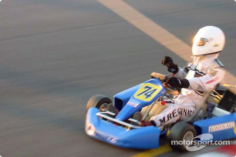 InterContinental A 100cc: Massimo Reginato, Top Kart-Comer