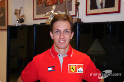Luciano Burti, nouveau pilote d'essais Ferrari