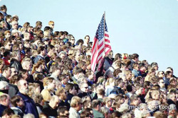 The crowd at New Hampshire International Speedway