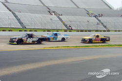 Jason White in front of Joe Ruttman