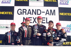 Archangel Motorsport Services celebrates their victory at Homestead-Miami