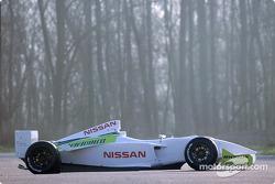 The new Super Nissan Dallara V6 3 litre single seater