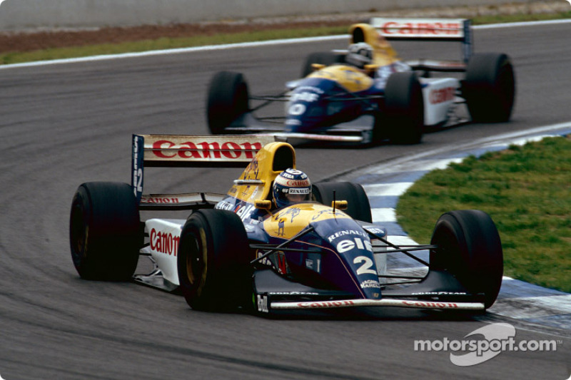 Damon Hill ve Alain Prost