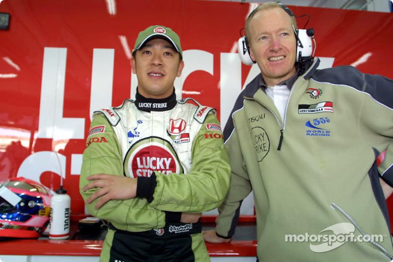 Ryo Fukuda et Malcom Ostler