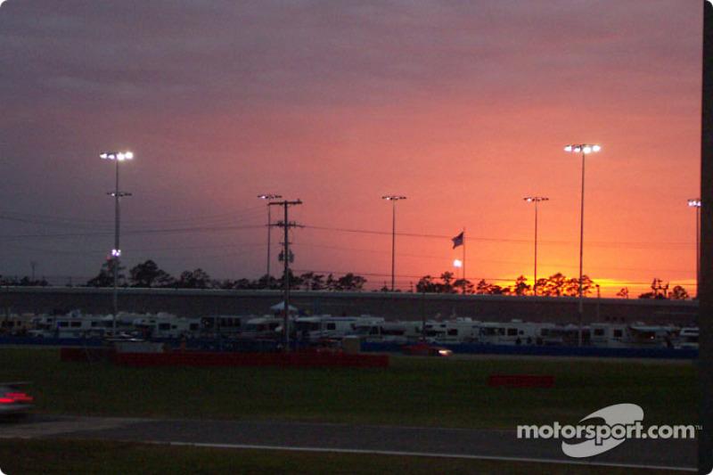 Coucher de soleil à Daytona
