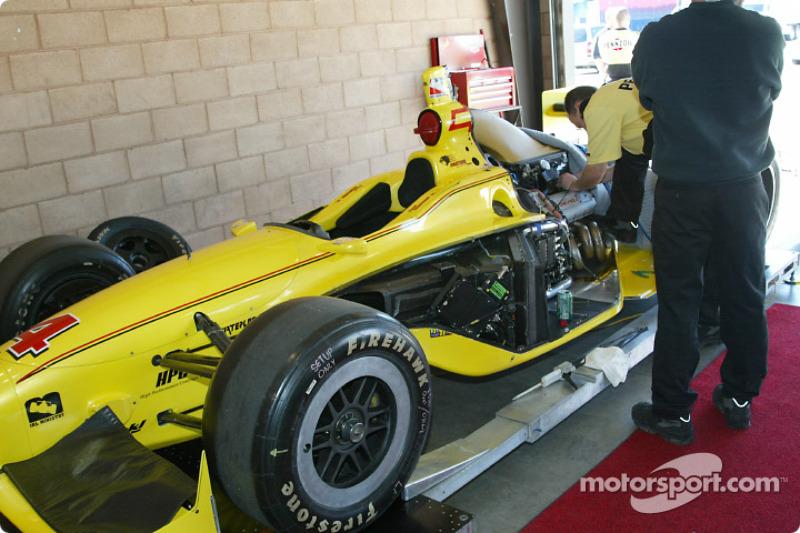 Pennzoil Panther Racing team car