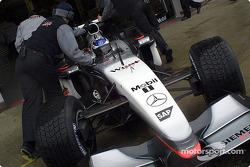 Kimi Raikkonen in the pits