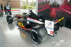 The new Minardi Asiatech PS02