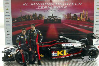 Lanzamiento del Minardi Asiatech PS02
