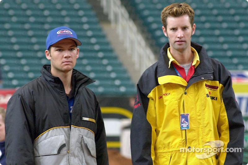 Chad Reed and Damon Huffman