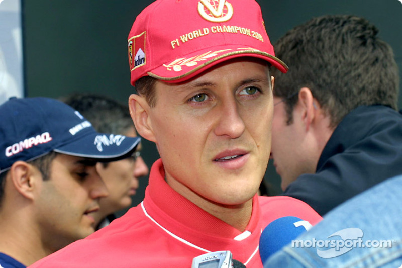 Interview with Michael Schumacher