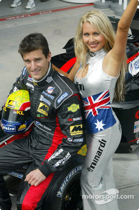 Mark Webber and Sarah Jane