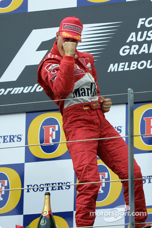 Michael Schumacher, vainqueur