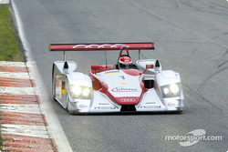Infineon Audi R8 (2002 version) presentation: Emanuele Pirro in the Infineon Audi R8