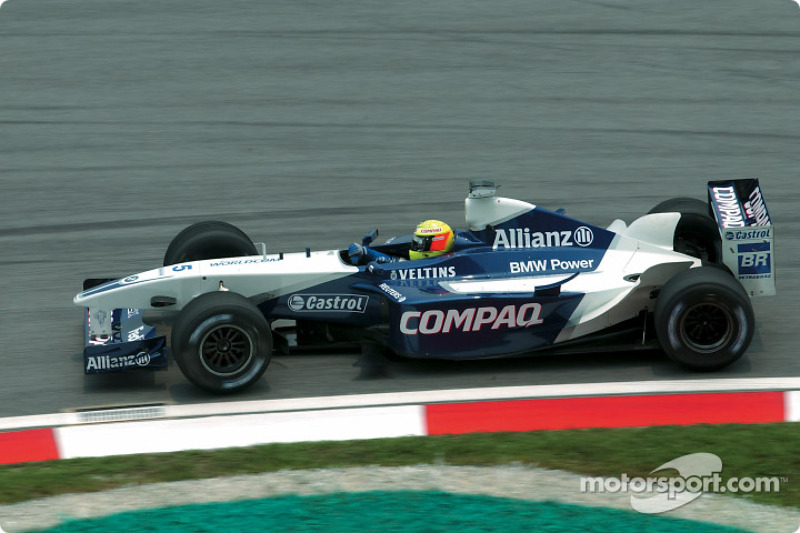 2002: Ralf Schumacher, Williams-BMW FW24