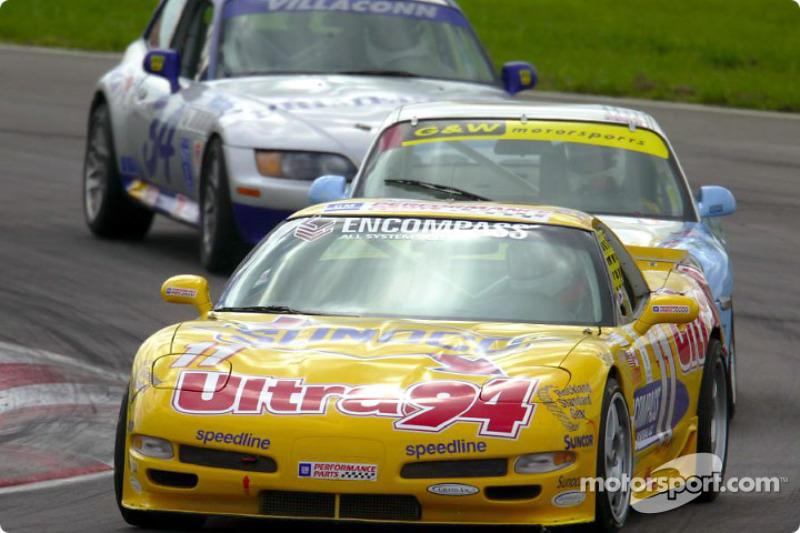 La Corvette n°11 du Powell Motorsports en route pour sa première victoire de la saison
