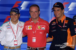 Thursday press conference: Felipe Massa, Rubens Barrichello and Enrique Bernoldi