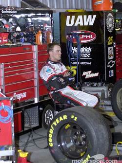 Kevin Harvick seeking some quiet