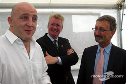 Irish Rugby Captain Keith Wood and Eddie Jordan