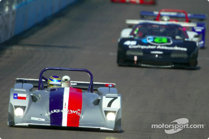 In his first Rolex Series race, Marino Franchitti captured the SportsRacing Prototype II pole during qualifying for the UnitedAuto 200 presented by azcentral.com