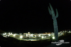Rolex Sports Car Series night action in the desert at Phoenix International Raceway