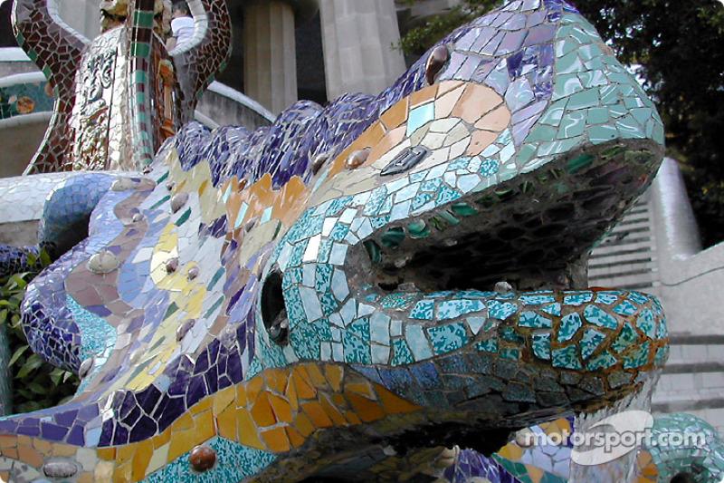 La famosa salamandra en Gruell Park
