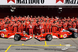 Family picture for Team Ferrari