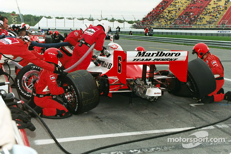 Gil de Ferran could have used more fuel