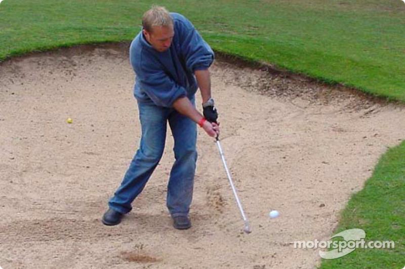 Un juego de golf dentro de Le Mans con el Equipo Panoz: Bill Auberlen
