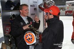 Johnny Herbert en el Infineon Audi R8 #2