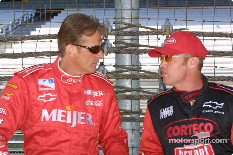 Arie Luyendyk and Al Unser Jr.