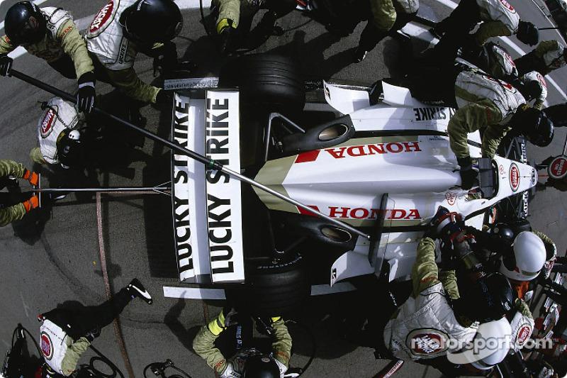 Arrêt pour Jacques Villeneuve