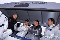 Marcel Fassler, Uwe Alzen, Hans-Jürgen Matheis and Patrick Huisman