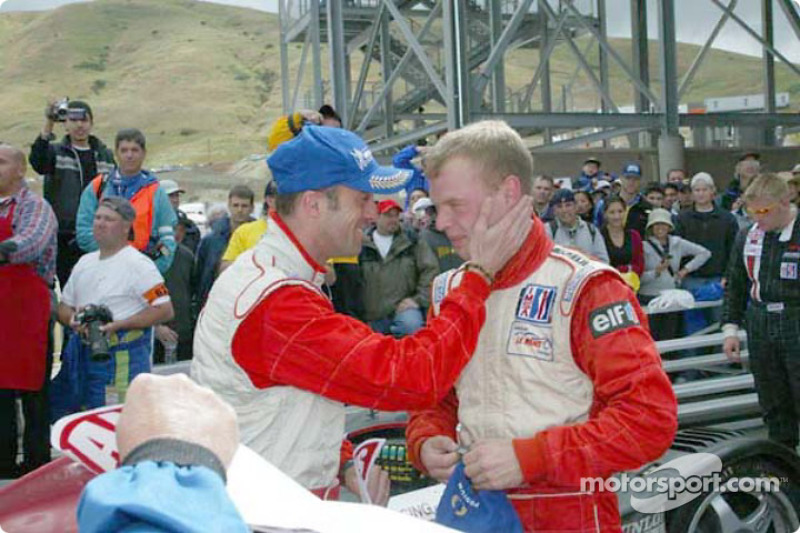 Race winners David Brabham and Jan Magnussen