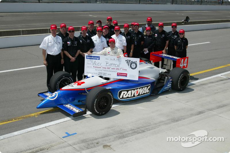 Alex Barron and team